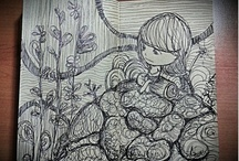 PEN-CIL / Collections of my quick doodles and sketches