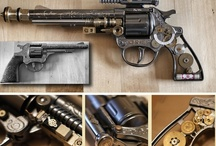 Steampunk Weapons | steampunkdistrict.com / by SteampunkDistrict.com }