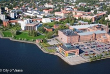 Up in the Air / In Vaasa, a town with a dense population and classic street plan, you can truly sense nature in form of a fresh sea breeze when walking along numerous wide boulevards.