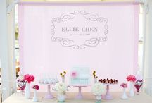 Dessert tables / by Hugo & Adele Party Shop