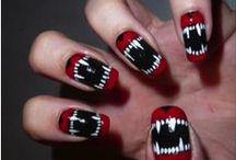 Halloween Nail Art / Complete your look with amazing nail art!
