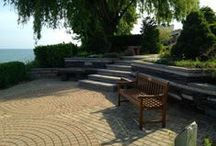 The Gardens of Hospice of the Western Reserve / Sit. Stroll. Meditate. Share. The gardens at the David Simpson Hospice House, meticulously cared for by Little & Wells, allow patients and their family and friends to enjoy a moment of solitude or bonding. Enjoy spectacular views of Lake Erie.