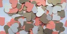 Tabletop confetti