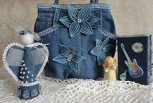 Clothes Refashions- Blue Jeans / by DeeDee J
