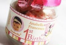 Baby's First Birthday & Baby Shower Favor Inspiration - DIY Baby Jar Favor Ideas