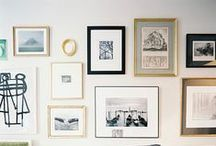 Home: Gallery Wall Inspiration / How to display your photographs in your home. Inspirational wall galleries.   / by The McCartneys Photography