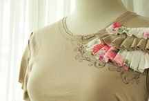 Clothes Refashions- Tee Shirts / by DeeDee J