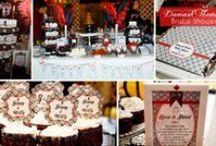 Black, White, & Red - Elegant & Sophisticated Dessert Tables