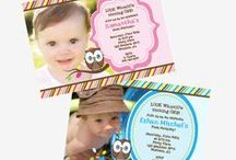 Owl Themed and Look Whoo's Turning 1 Birthday Party Ideas / Owl themed birthday ideas