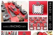 Checkered Race Car Birthday Inspirational Board
