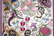 Embroidery & All things stitched / Embroidery  / by Susan Elizabeth Beattie