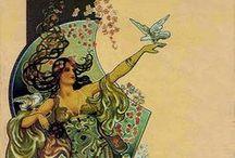 Art Nouveau and Art Deco  / 1880 - 1949 / by Violet Althouse
