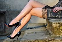 Legs & Heels / Oh, and one other thing...wear high heels! / by Sanne von CC
