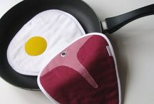 kitchen potholders / Potholders