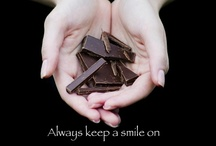 Chocolate Quotes / There's nothing like Chocolate humor to brighten your day - Although a nice bar of Dark Chocolate always brings a smile to my face!