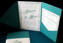 You're Invited / The first impression of your wedding begins with the invite...oh la la make a good one and carry the unique messages thru to your wedding day!!