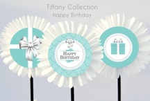 Tiffany & Co. Theme Inspired Party