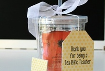 teacher gifts / by Laurie Romney