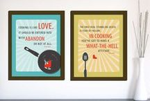 Kitchen & Dining Room Art Prints & Quotes
