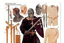 Medieval Armour and Weapons... / being what protected and defended...