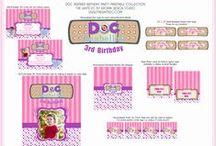 Doc McStuffins Inspirational Birthday Party Ideas