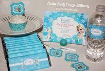 Frozen Inspired Birthday / Frozen Birthday Party Ideas