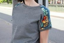 Inspiration: Tee Shirts / Inspiration for sewing tee shirts / by Elizabeth Kobata