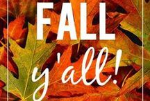 Frightfully Delightful / Fall- My favorite time of year!  Halloween. thanksgiving. fall DIY. decor. recipes. ideas.  / by Katherine Elizabeth