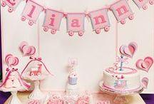 Train Birthday Party Ideas for Girls
