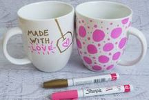 Sharpies / *Decorating with Sharpies* / by Katherine Elizabeth