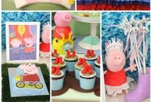 Peppa Pig Birthday Party Ideas / by Kroma Design Studio | Today's Party Ideas