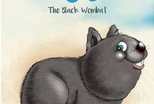 Nugget - The Black Wombat / An illustrated children's book for early childhood... To be released as an e-book in September and a print book in December.