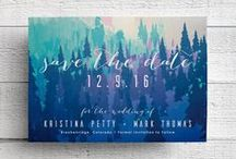 Save the Dates / Wedding save the date ideas.