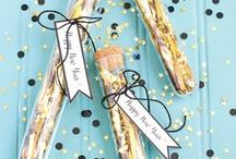 New Year's / #NewYear #NewYears #NYE #Party #Parties #Celebration #Food #Recipes #Decorations