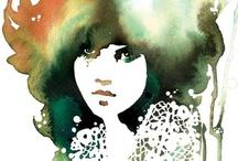 illustration / lovely and inspiring art. / by Jonelle Maira