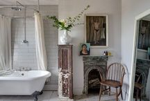 rustic chic home | beacon lane / rustic touches in a modern home, rustic kitchens, bath & home decor / by Beacon Lane Weddings