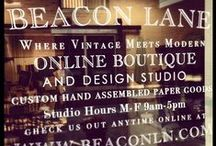 Beacon Lane Studio / inside the beacon lane studio