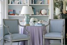 Comfy Home-Beautiful Blues / One of my favorite colors to add to my home