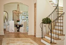 Comfy Home~Staircase / The staircase, a love and hate relationship.  So beautiful to view and challenging to decorate-join me in finding designs, decorating ideas, color palettes and more...