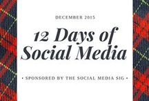 12 Days of Social Media