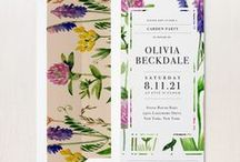 Party & Holiday Invitations / Hello! We are Beacon Lane. A small team who is passionate about perfecting the art of the invite! We design, print and hand craft affordable luxury wedding invitations, bridal shower cards, save the dates, wedding day of stationery, baby shower and special event paper goods. Below is a sampling of our Party & Holiday Collection!