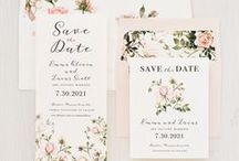 Save The Dates / Hello! We are Beacon Lane. A small team who is passionate about perfecting the art of the invite! We design, print and hand craft affordable luxury wedding invitations, bridal shower cards, save the dates, wedding day of stationery, baby shower and special event paper goods. Below is a sampling of our work.