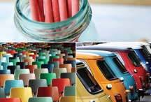 Colourful Items