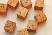 Wooden Block Ideas / by ThePlaidBarn
