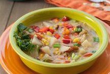 Soups / by Tamara-Lynn St-Pierre