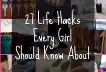 Life Hacks / Things to make your life a little easier.  / by Lauren Rauffer