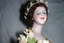 Lady dolls / Lady and Fashion dolls / by Leslie Hoying