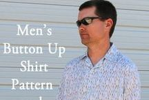 free sewing: for men / free sewing patterns and tutorials for making clothing and accesories for men / by Jaya Pratheesh