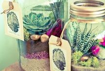 Mason Jars / Mason Jar Inspiration and How to's