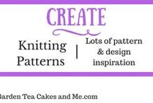 Knitting Patterns beginners / Needles and yarn ready  - lots of pattern inspiration.